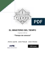 Guion Ministerio Del Tiempo Capitulo 28 T3xE07
