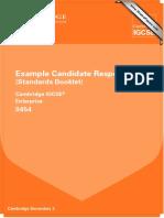 Example Candidate Responses (Standards Booklet) 0454 Cambridge IGCSE.pdf