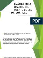 Problemática en La Apropiación Del Conocimiento de Las Matematicas