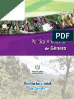 Política Ambiental de Género 2015