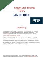 Binding Theory