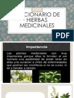 DICCIONARIO DE HIERBAS MEDICINALES.pptx