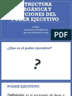 Estructura Orgánica y Funciones Del Poder Ejecutivo (1)