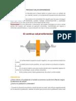 Proceso Salud - Enfermedad y Sus Determinantes