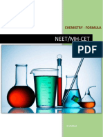 Chemistry NEET Complete Revision Formulae Material
