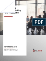 Employee Vetting and Protection White Paper
