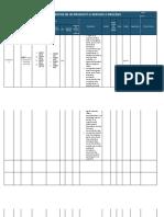 Matriz de Requisitos de Un Producto o Servicio o Proceso