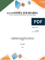 ECONOMÍA SOLIDARIA Fase No. 3 Centralizar El Desarrollo Humano en La Economía Solidaria
