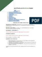 Apuntes para Práctica de Electrónica Digital
