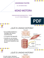 Unidad Motora - Fisiología Teoría