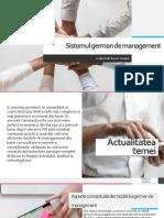 Sistemul German de Management