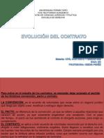 EVOLUCIÓN DE LOS CONTRATOS.