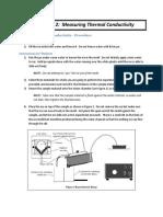 Thermal Conductivity Test Manual UI PUI