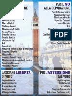 Referendum Venezia-Mestre, gli schieramenti