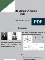 Teoria Do Campo Cristalino (TCC)