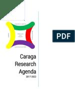 Caraga Research Agenda 2017-2022 Topics