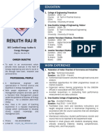 Renjith Resume Nov 2019