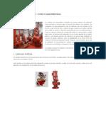 Bombas Contra Incendio - Tipos y Caracteristicas