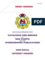 CATALOGUE AND INDEXES OF SAN CHARTS  AND OTHER HYDROGRAPHIC PUBLICATIONS
