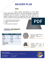 Ficha Tecnica - Tapete Dielectrico Macker Plus.