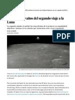 'Apolo 12'- 50 Años Del Segundo Viaje a La Luna - Ciencia - EL PAÍS