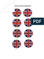 Chain of Command British Patrol Markers
