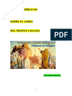 Estudios Biblicos Profeta Hageo