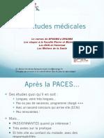 Presentation Etudes Medicales JPO Janvier 2017