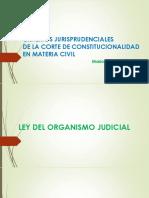 Criterio de jurisprudenciales