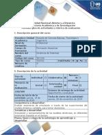 Guía de Actividades y Rúbrica de Evaluación - Paso 5 - Modelación de Los Experimentos de Simulación
