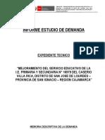 1. Informe Demanda Villa Rica