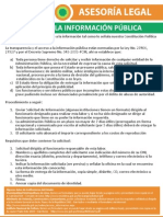 Consultorio Urbano - Accceso a la informacion pública