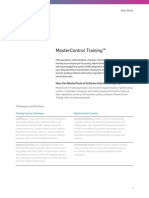 Mastercontrol Training