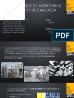 Empresas de Acero en El Peru y Sudamerica