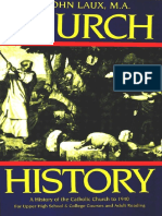Church History a History of the Catholic Church to 1940