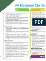 KS1 New 2014 Curriculum Posters Year 1-4xA4