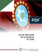 Ley Provincial de Educacion (SALTA)