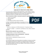 Taller 02032019 - Calculo de La Dieta Diaria