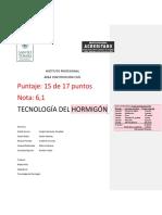 Informe de laboratorio de hormigon N°2 2018