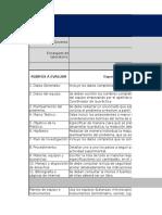 Rúbrica excel para calificar prácticas de laboratorio de 2 a 4 sesiones.