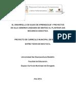 PLANIFICACIÓN DE GUÍAS DE APRENDIZAJE