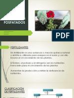 Fertilizantes fosfatados.