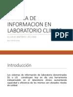 Sistema de Informacion en Laboratorio Clinico
