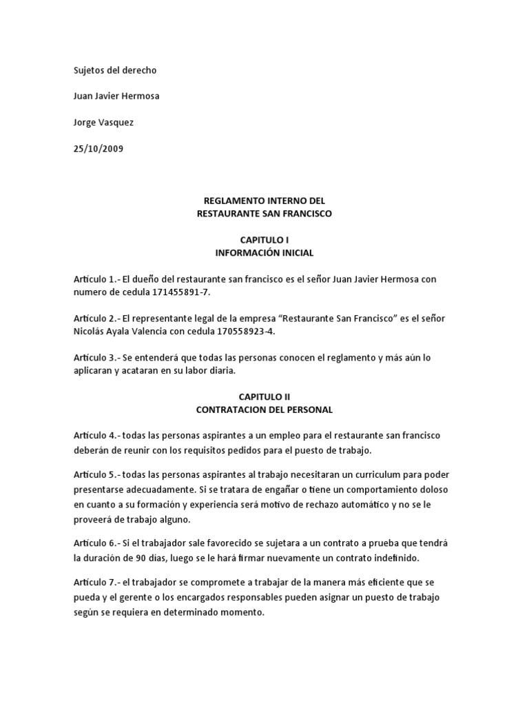 Excepcional Plantillas De Currículum Para Trabajos De Restaurante ...