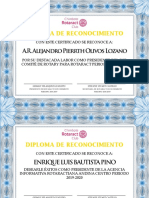 Diploma Cambio de Mazo