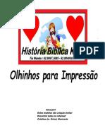 Olhos Impressão Historia Biblica Kids-1