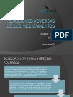 Reacciones Adversas de Los Medicamentos