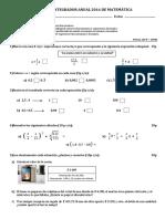 Examen Integrador Anual 2016 de Matemática 7 (Autoguardado)