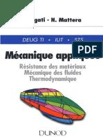 Mecanique Appliquee - Resistance Des Materiaux, Mecanique Des Fluides, Thermodynamique ( PDFDrive.com )