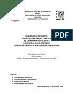 Esquema Del Proyecto Diseño Instruccional Psicologia II (1)